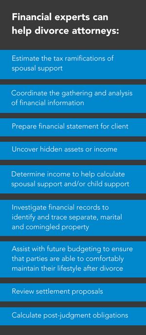 financial expert in divorce