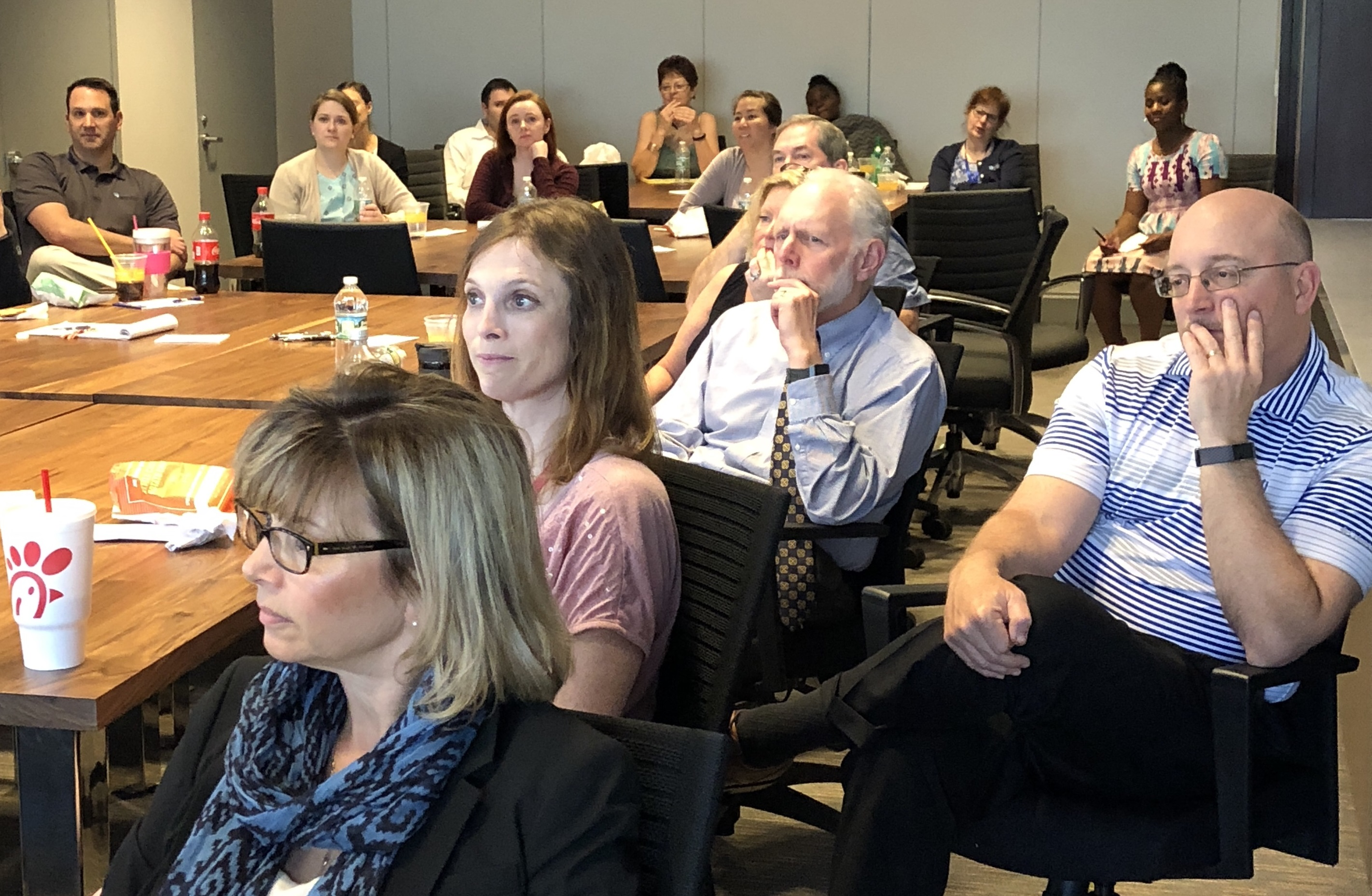 Gross Mendelsohn team at womens initiative panel