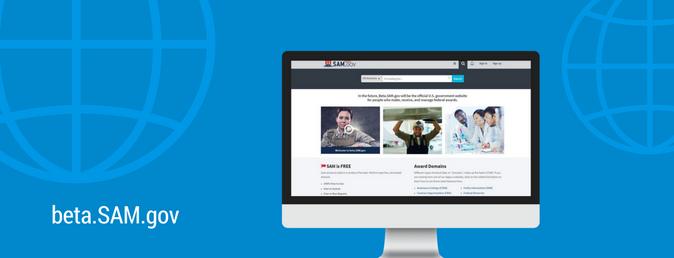 beta.SAM.gov website