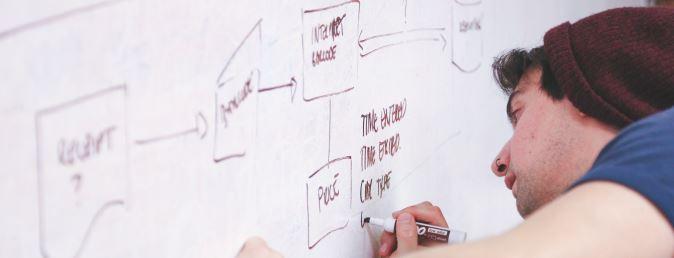 man-writes-on-whiteboard