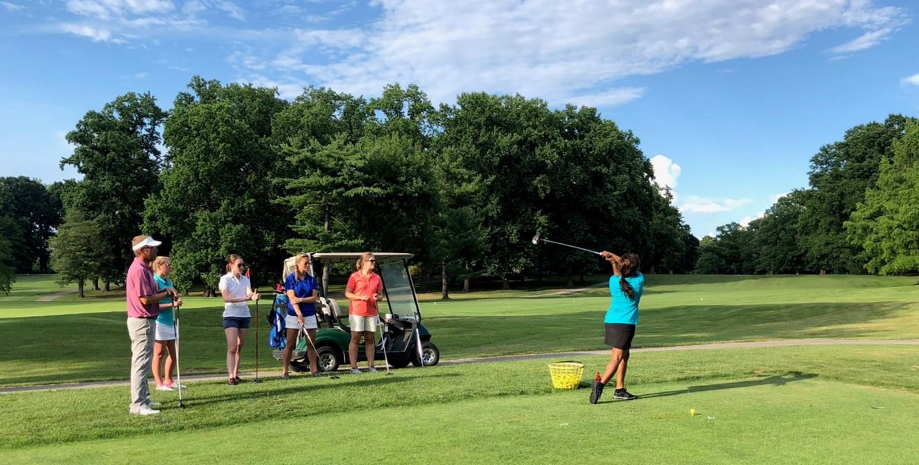tekoa gamble gets the fabled golf swoosh